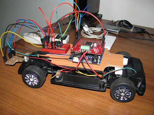 Build Your Own Transistor Based Mobile Line Follower Robot
